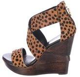 Diane von Furstenberg Opal Ponyhair Sandals