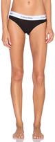 Calvin Klein Underwear Modern Cotton Bikini in Black