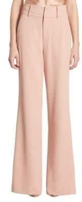 Alice + Olivia Dawn High-Waist Flared Pants