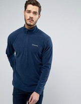 Columbia Klamath Range Ii Sweatshirt Half Zip Fleece In Navy