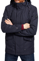 Joules Bridgefield Hooded Waterproof Jacket, Marine Navy