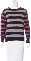 Piazza Sempione Striped Cashmere Sweater