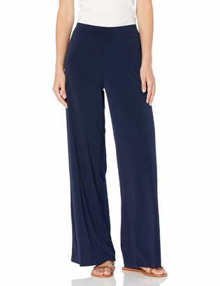 Amy Byer A. Byer Women's Soft Knit Palazzo Wide Leg Pant (Petite Standard and Plus Sizes)