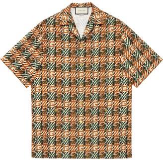 Gucci Graphic Print Shirt