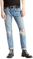Levi's 505c Slim Straight Fit Distressed Jeans