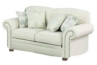 Norah Loveseat with Antique Inspired Detail