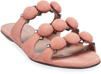 Alaia Flat Bombe Sandals