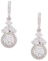 Nadri Vine Cubic Zirconia Drop Earrings