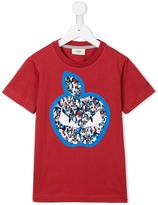 Fendi 'Monster' apple T-shirt