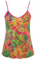 George V-Neck Tropical Print Camisole