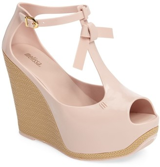Melissa Peace VI Jelly Wedge Sandal