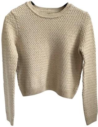 Neuw Beige Cotton Knitwear
