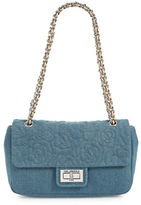 Karl Lagerfeld Paris Agyness Denim Handbag