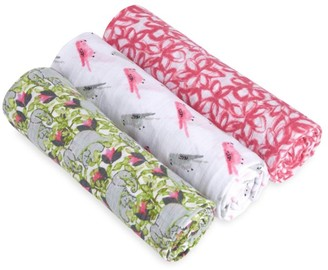 Aden Anais Baby's Set of 3 Classic Paradise Cotton Swaddles