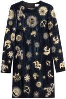 Emilio Pucci Embroidered Velvet Dress