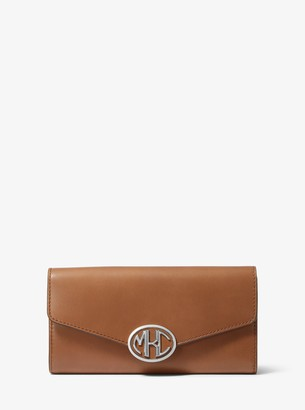 Michael Kors Monogramme Leather Continental Wallet