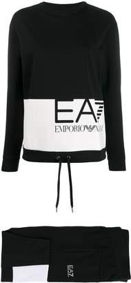 Emporio Armani Ea7 colour block track suit