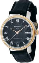 Tissot T097.407.26.053.00 40mm Automatic Stainless Steel Case Calfskin Synthetic Sapphire Men's Watch