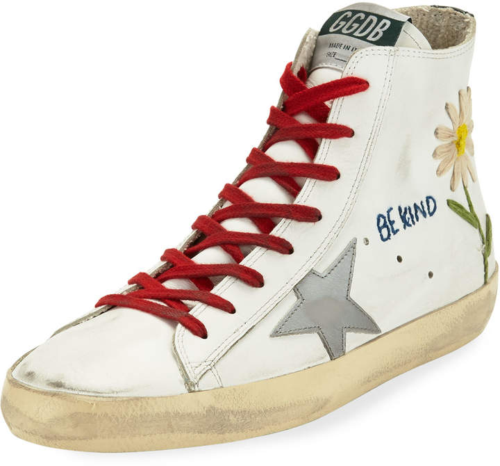Golden Goose Francy High-Top Star Sneakers