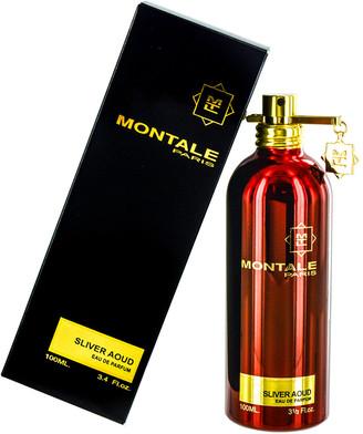 Montale 3.3Oz Silver Aoud Eau De Parfum Spray