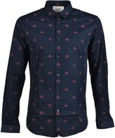 Gucci Bee And Star Pattern Shirt