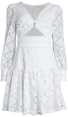 MICHAEL Michael Kors Medaillon Lace Dress