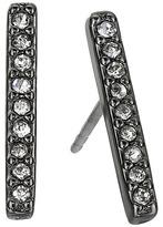 Rebecca Minkoff Pave Bar Stud Earrings