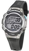 Freegun Boy's Quartz Watch with Black Dial Digital Display and Plastic Black - EE5163