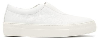 Primury - Basal Slip-on Leather Trainers - Womens - White