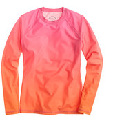 J.Crew Rob PruittTM for rash guard in pink orange multi