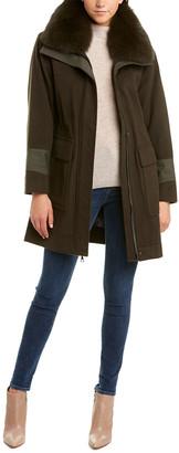 Trina Turk Whitney Wool-Blend Coat