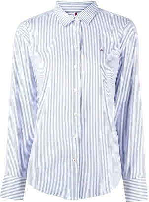 Tommy Hilfiger Striped Long-Sleeve Shirt