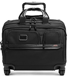Tumi Alpha 3 Deluxe 4-Wheel Laptop Case Brief