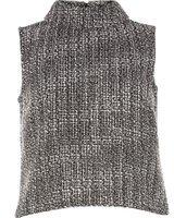 Dorothy Perkins Womens **Vero Moda Tweed Shell Top- Multi Colour