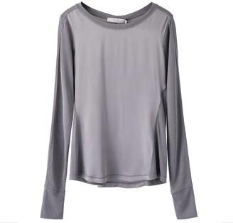 Voya Electra Silk Long Sleeve Top
