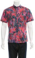 Paul Smith Printed Button-Down Shirt