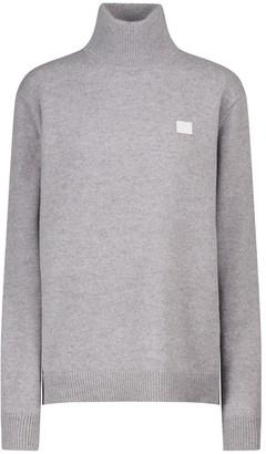 Acne Studios Face wool turtleneck sweater