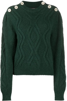 Isabel Marant Chunky Cable Knit Jumper