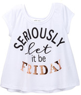 Ten Sixty Sherman Seriously Let It Be Friday Tee (Big Girls)