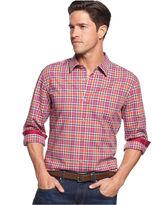 HUGO BOSS Ronny Long-Sleeve Plaid Shirt