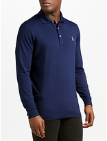 Polo Ralph Lauren Pro-Fit Long Sleeve Polo Shirt, French Navy
