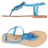Twin-Set Toe post sandal