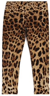Dolce & Gabbana Kids Leopard Print Leggings (2-6 Years)