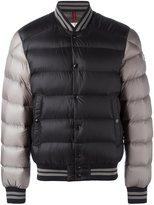 Moncler bi-colour puffer jacket