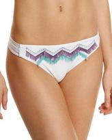 Luxe by Lisa Vogel Birds-Of-A-Feather Swim Bottom, White