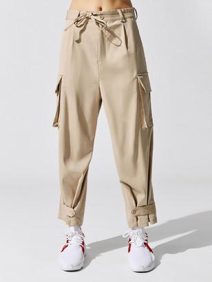 Y-3 Women's Classic Refined Wool Stretch Cargo Pants
