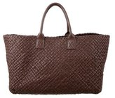 Bottega Veneta Limited Edition Intrecciato Cabat Tote