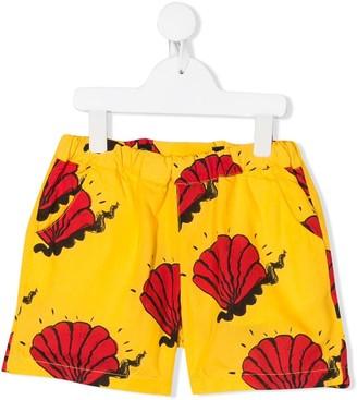 Mini Rodini Shell Pattern Shorts