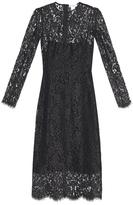 Raey Long-sleeved lace dress