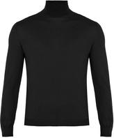 Boglioli Roll-neck fine-knit wool sweater
